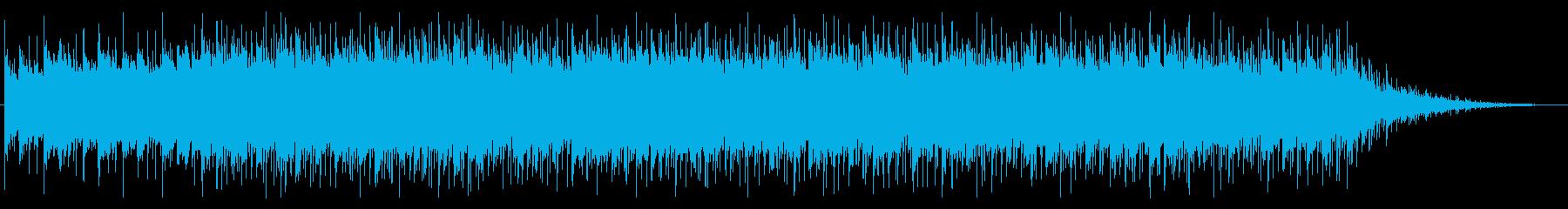 始まりを感じさせるシンセとアコギの再生済みの波形