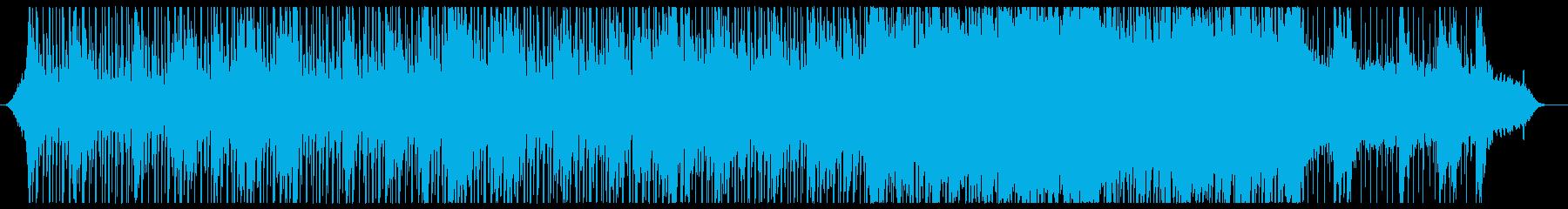 ほのぼのとソフトな企業VPコーポレートの再生済みの波形