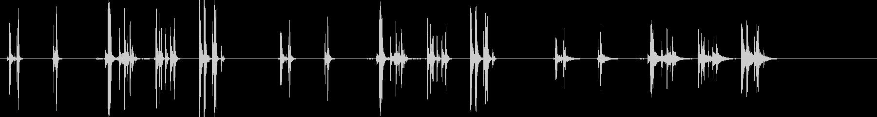 LATCH、2バージョンX 3ルー...の未再生の波形