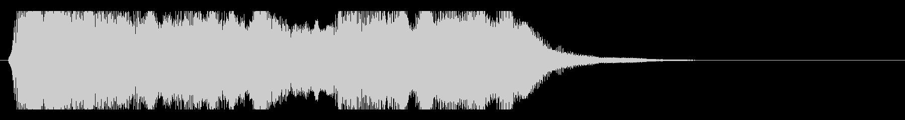 ファゴットの怪しい、切ないジングルの未再生の波形