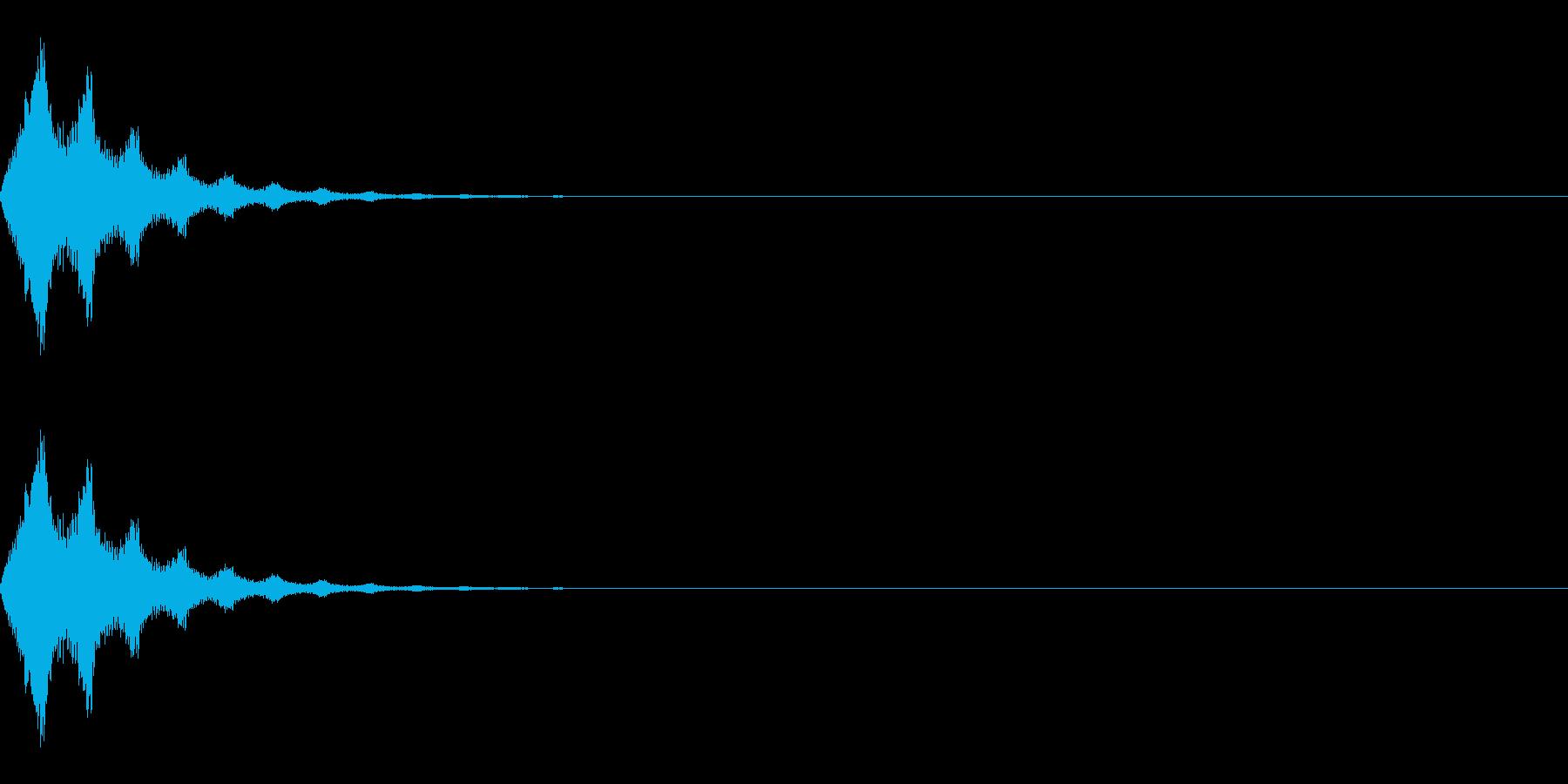 ワープ/転送装置/瞬間移動/SFの再生済みの波形