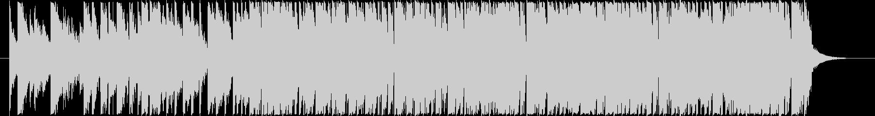 煌びやかなピアノ音色入りテクノポップの未再生の波形