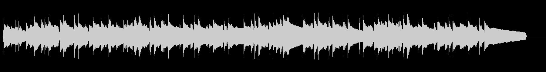 さわやかで切ないピアノのバラードの未再生の波形