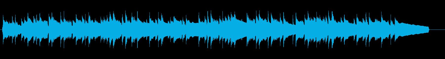 さわやかで切ないピアノのバラードの再生済みの波形