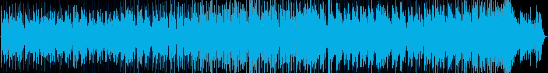 背景素材:ナレーション用BGM-1の再生済みの波形