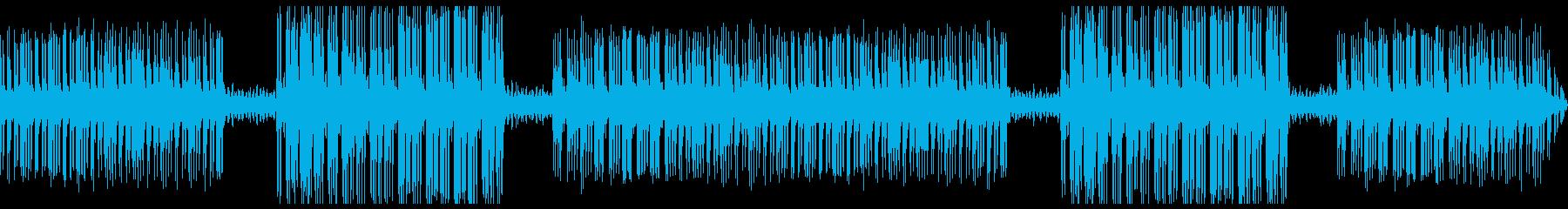 【主張しない背景音楽】近未来の再生済みの波形