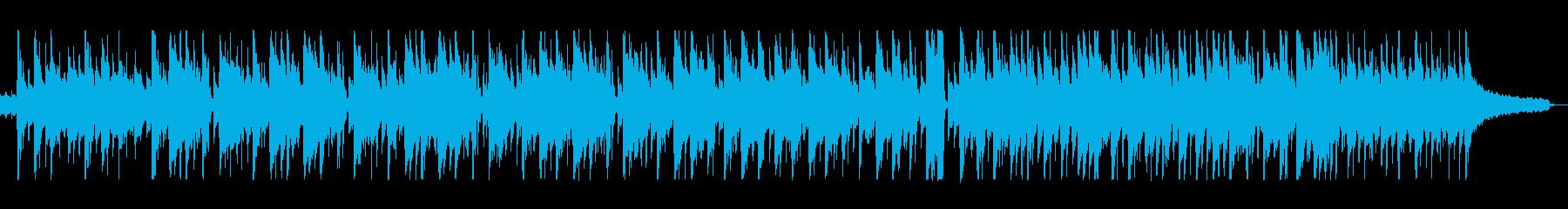 カントリーミュージックの再生済みの波形