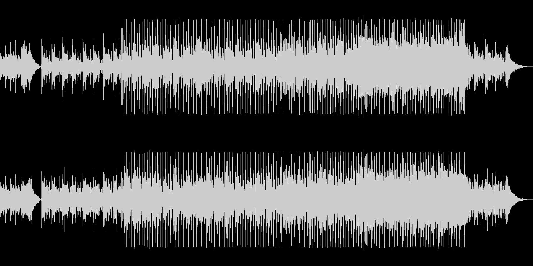 映像に合うかわいいクリスマスBGMの未再生の波形