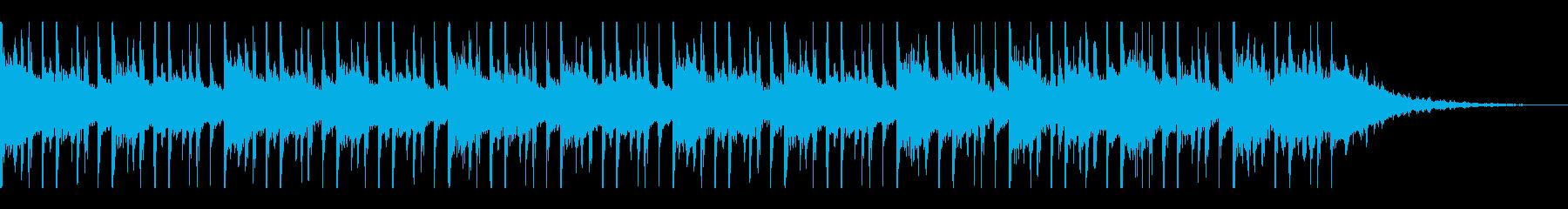 アラビア音楽(30秒)の再生済みの波形