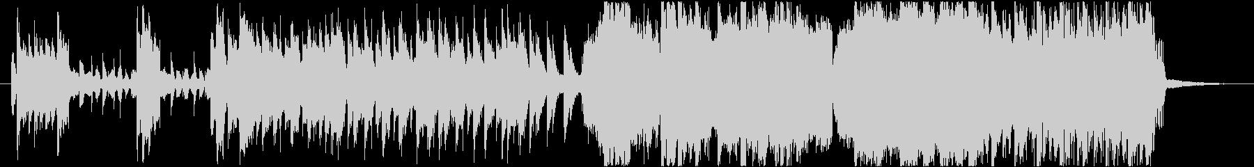 CM用 攻撃的なエレクトロロック の未再生の波形