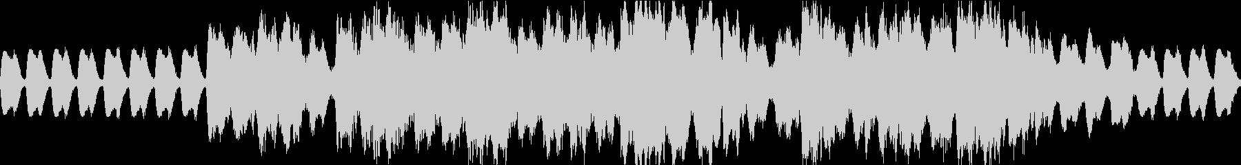 オーケストラ編成の戦士の行進曲の未再生の波形