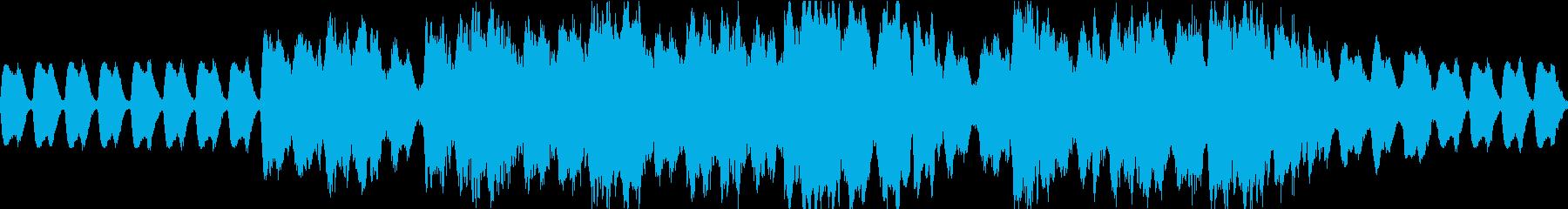 オーケストラ編成の戦士の行進曲の再生済みの波形