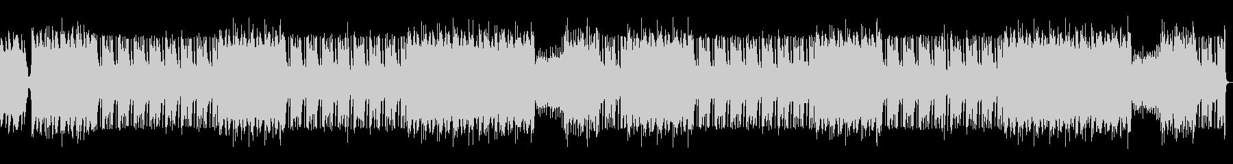 ダークなシーケンスBGMの未再生の波形