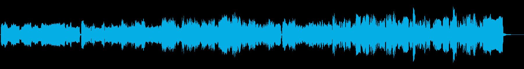 アコーディオンとリコーダーでほのぼのの再生済みの波形