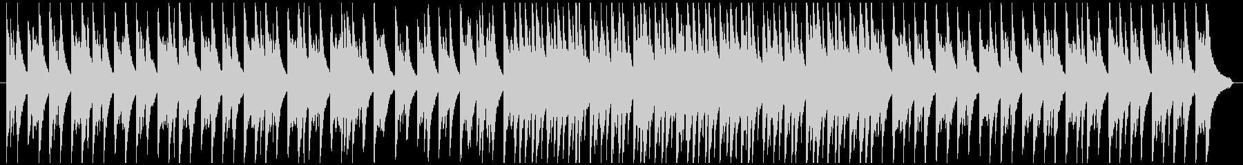 やさしい雰囲気をイメージしたピアノBGMの未再生の波形