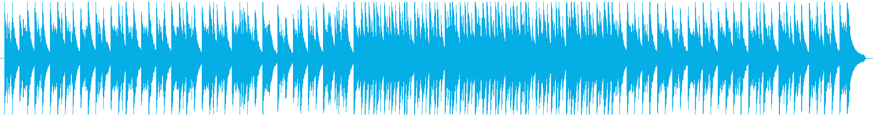 やさしい雰囲気をイメージしたピアノBGMの再生済みの波形