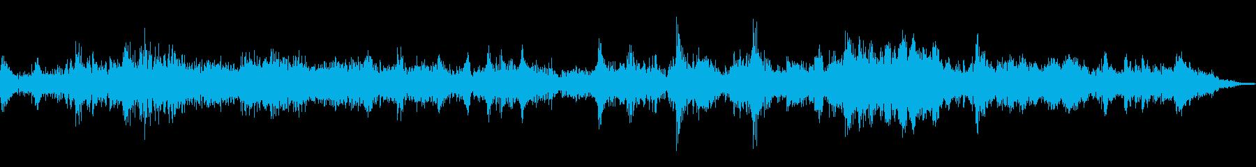 上昇と下降、電子モーフィング、機械...の再生済みの波形