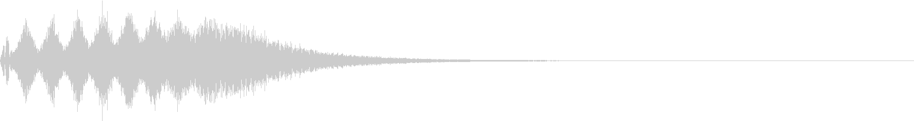 TVFX 目立たせ・アイキャッチ 15の未再生の波形