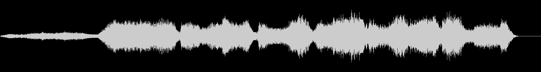 不気味・怖い雰囲気のBGMの未再生の波形