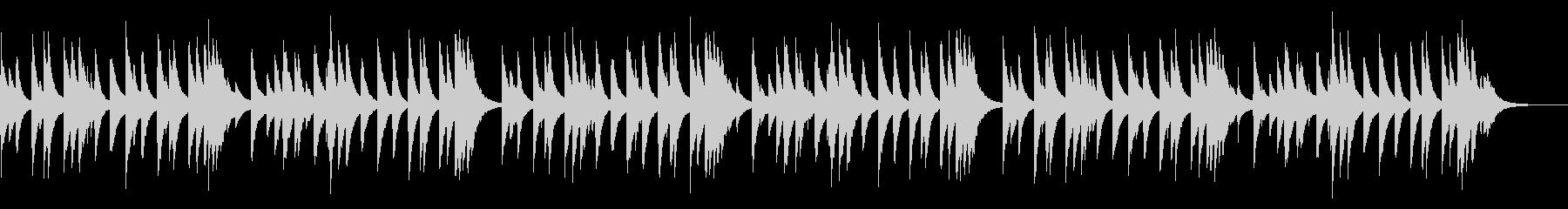 シューベルトの子守唄 72弁オルゴールの未再生の波形