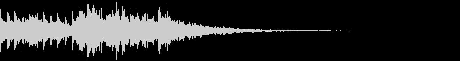 [ニュース報道]無機質:13、エンドの未再生の波形
