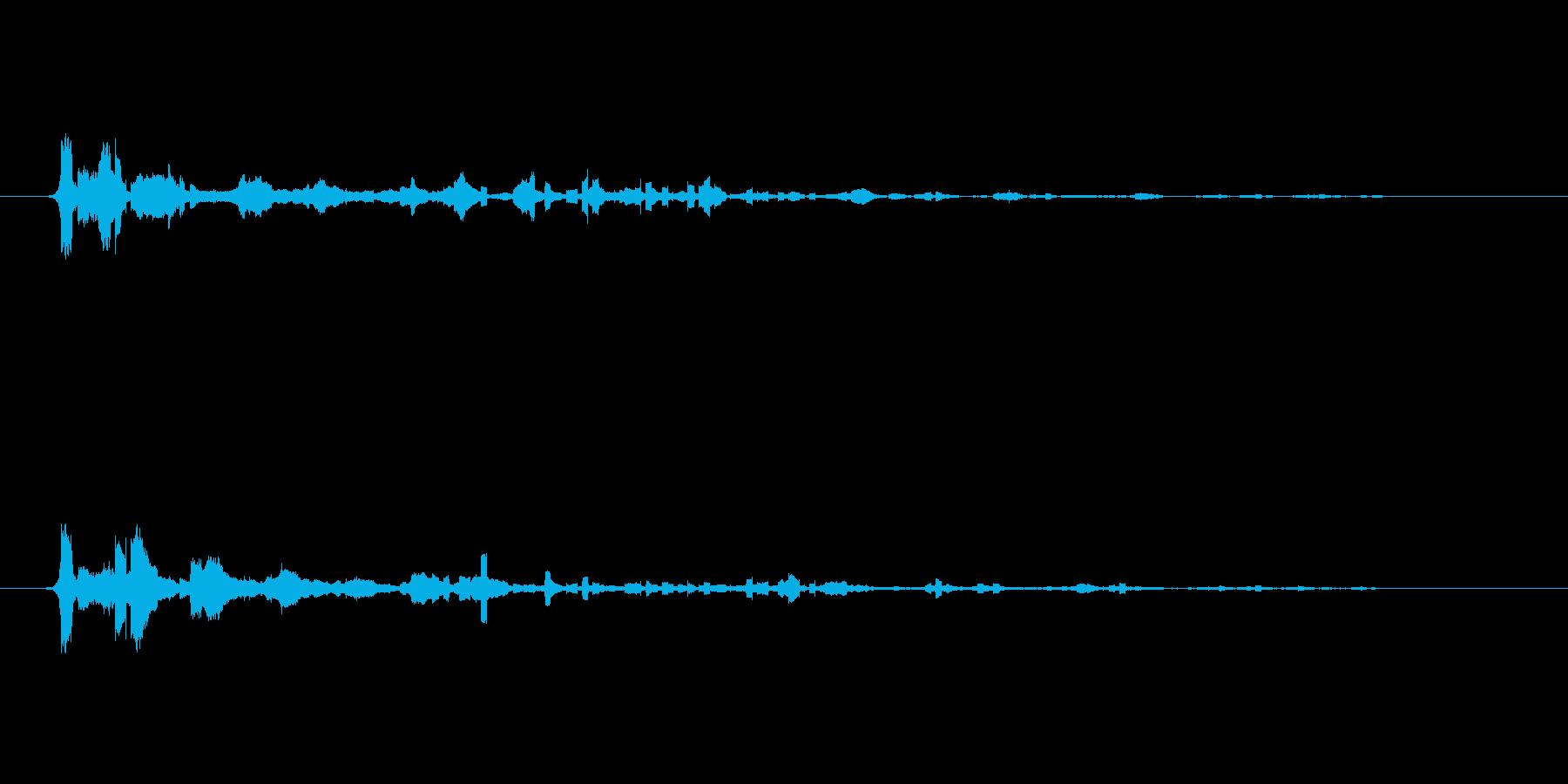Sci Fiランダムピッチ-スペー...の再生済みの波形