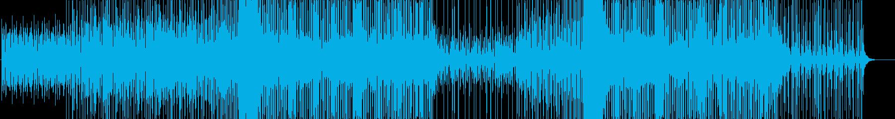 EDM-クール-TikTok-PV-動画の再生済みの波形