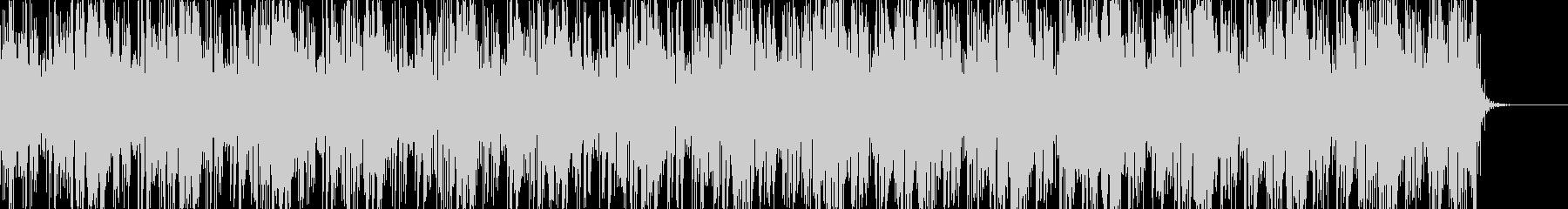 ノイジーでダークなアンビエントBGM7の未再生の波形