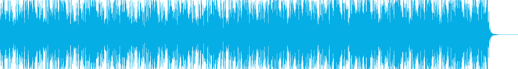 ノイジーでダークなアンビエントBGM7の再生済みの波形