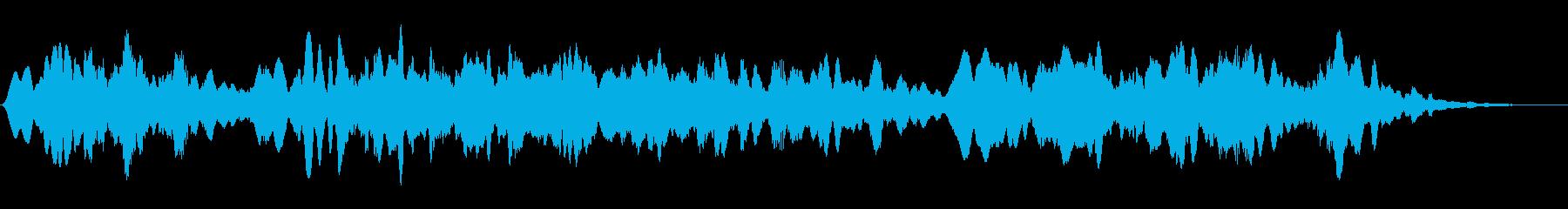オカルト 不思議 雑談BGMの再生済みの波形