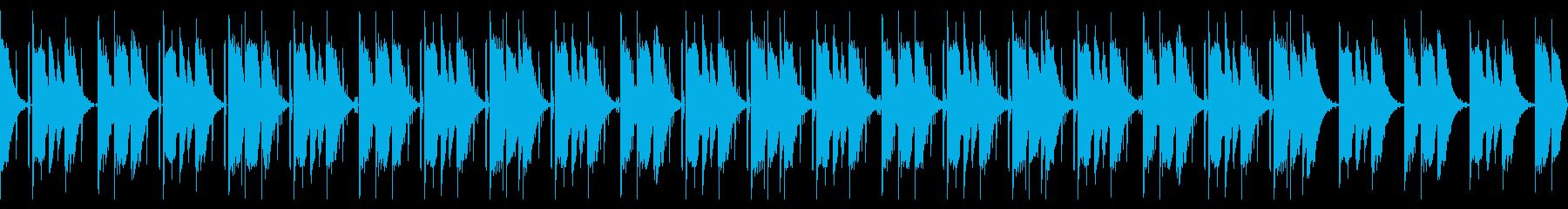 ちょっとダークなLofi BGMの再生済みの波形