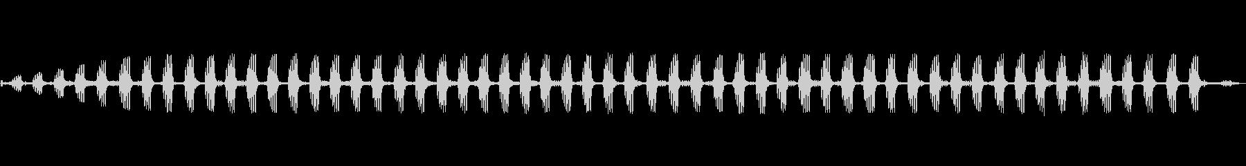 リンリンリンリンという秋の虫の未再生の波形