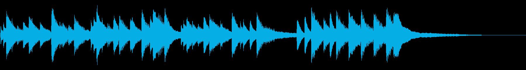 子どもの誕生日を祝ったピアノ曲3の再生済みの波形