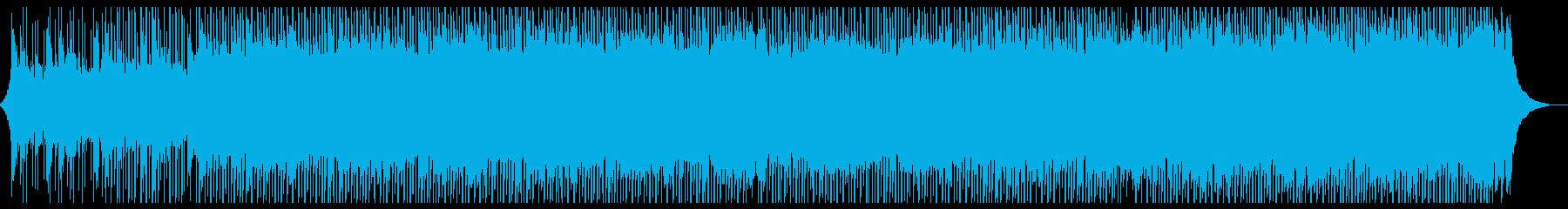 広告音楽の再生済みの波形
