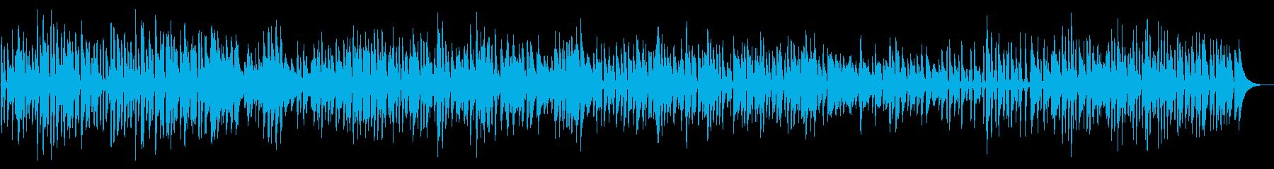ピアノボサノバYouTube犬猫ペット系の再生済みの波形