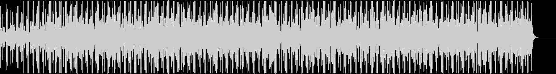ウクレレとピアノの愉快なおもちゃブルースの未再生の波形