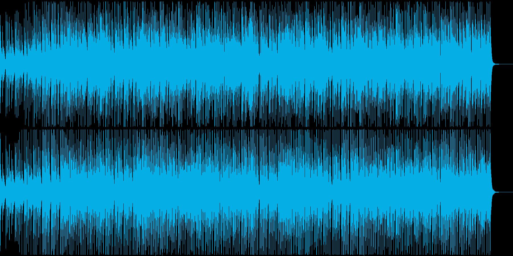 ウクレレとピアノの愉快なおもちゃブルースの再生済みの波形