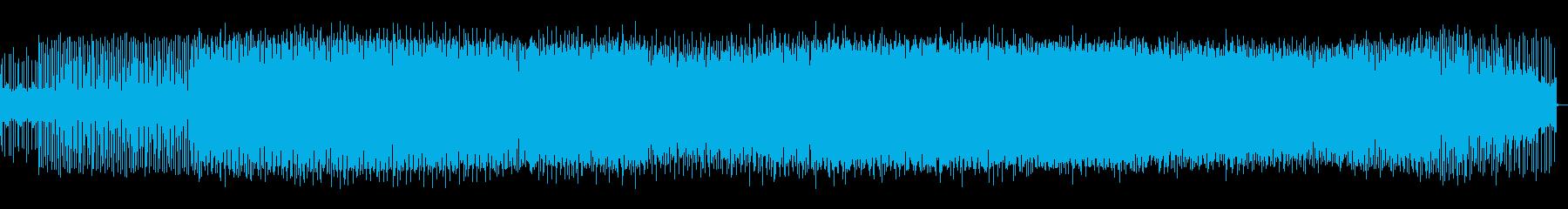 対決シーン向けのミニテクノの再生済みの波形
