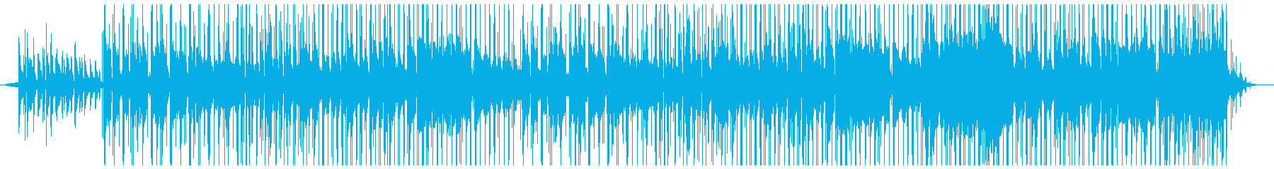 BGM用夕暮れが似合うバラードの再生済みの波形