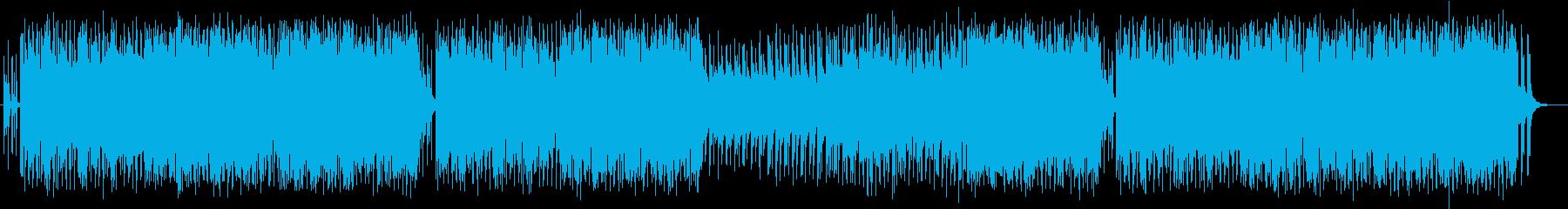 クールで魅惑的なミュージックの再生済みの波形