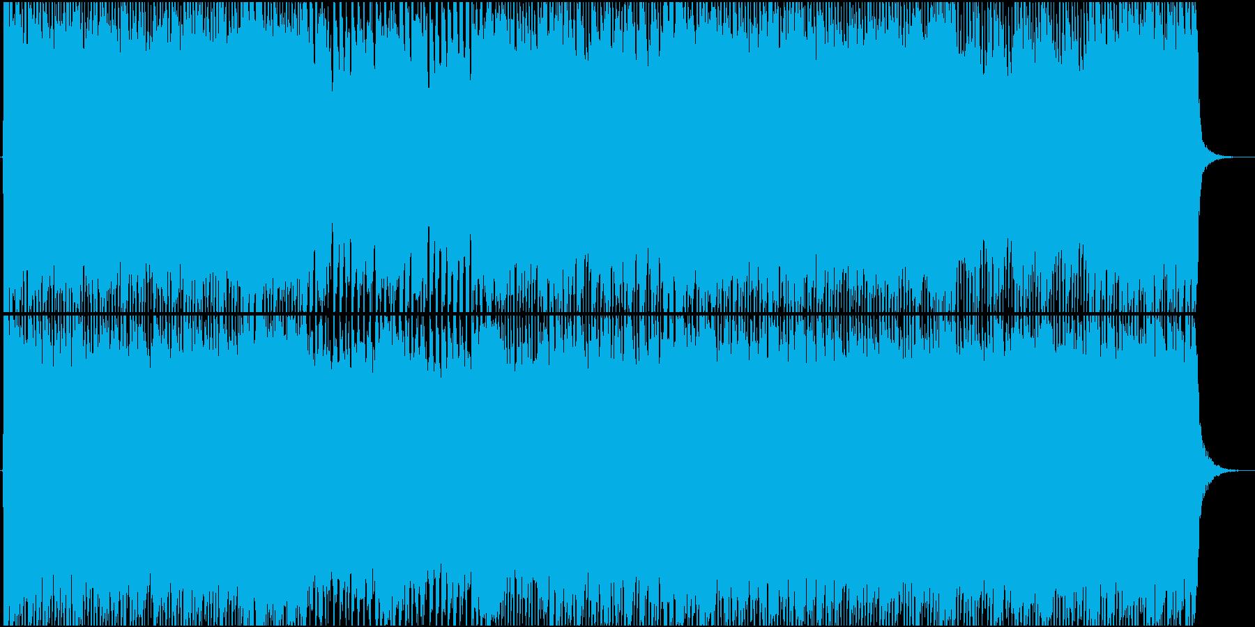女性Vo★アニソンOP風テクノポップ曲☆の再生済みの波形