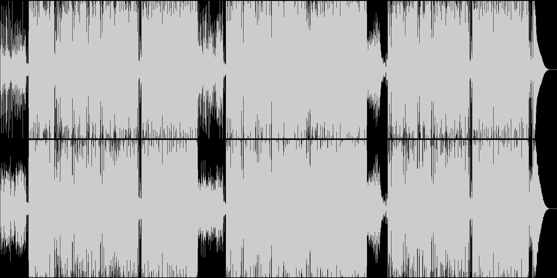 映像用ウクレレの可愛らしいカントリーの未再生の波形