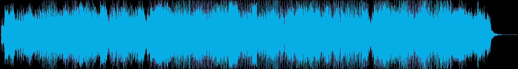 アンビエントで幻想的 不思議 浮遊感の再生済みの波形