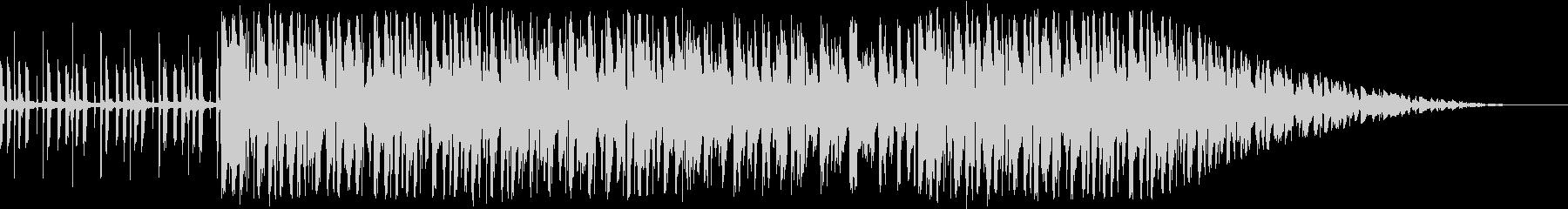 クールなLOFI -BEATの未再生の波形