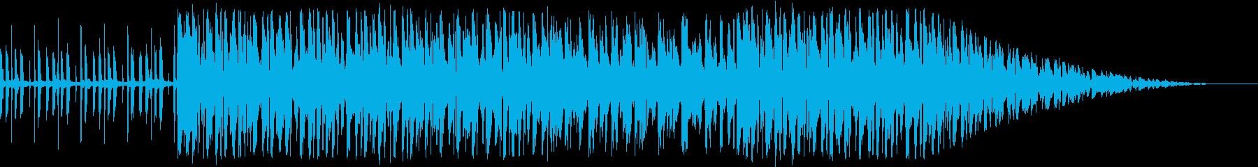 クールなLOFI -BEATの再生済みの波形