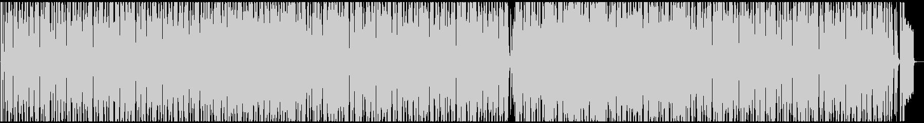 シンセポップフュージョンの未再生の波形