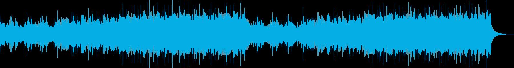 感動的な映像、ピアノ、ポストクラシカル2の再生済みの波形