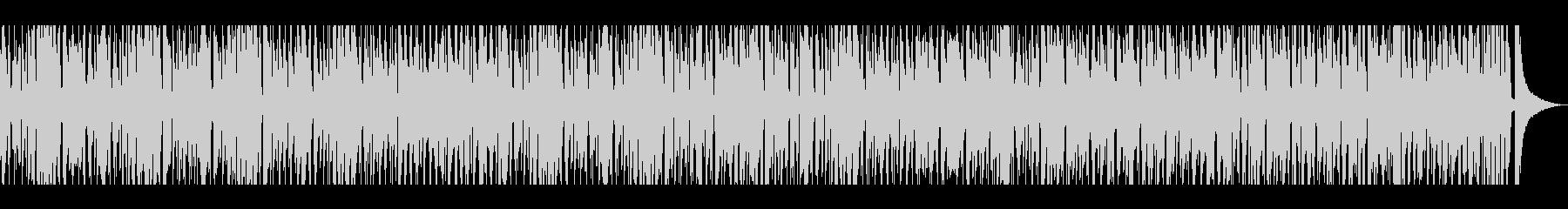 おしゃれなピアノでさっぱりボサノバ風の未再生の波形