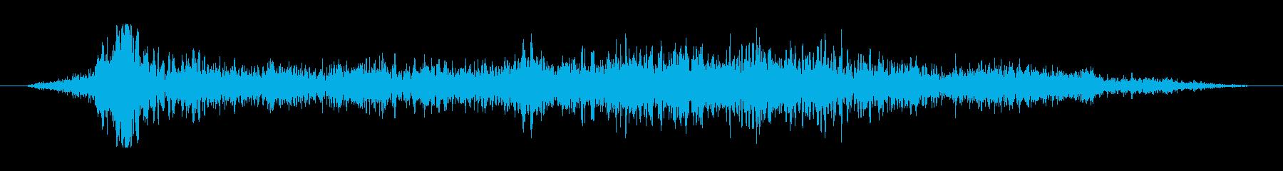 ボウッボボボゥッ(炎が舞い上がる音)の再生済みの波形