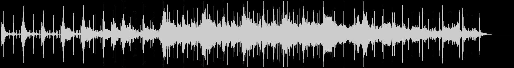 ピアノとビートによるクールなアンビエントの未再生の波形
